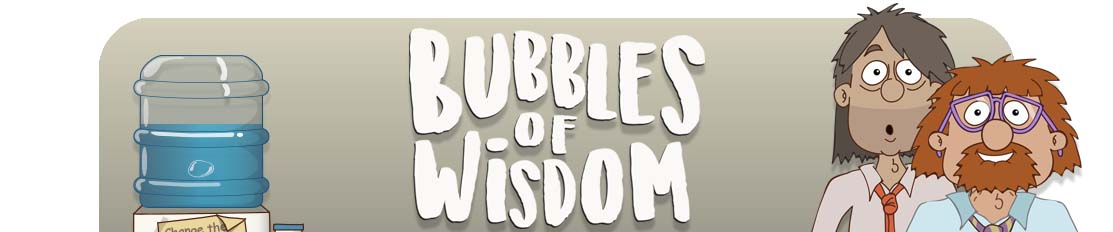 Bubbles of Wisdom Adobe Character Animator Webseries
