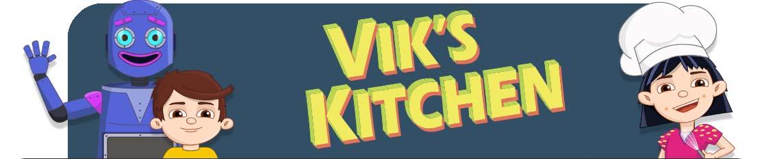 Vik's Kitchen Animated Kids Cooking Teaser