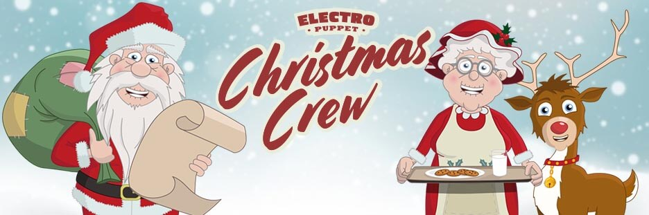 Christmas Puppets for Adobe Character Animator