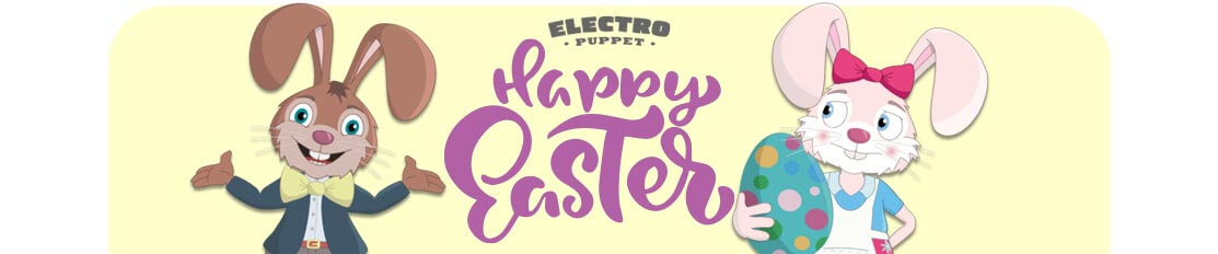 Easter Puppets for Adobe Character Animator