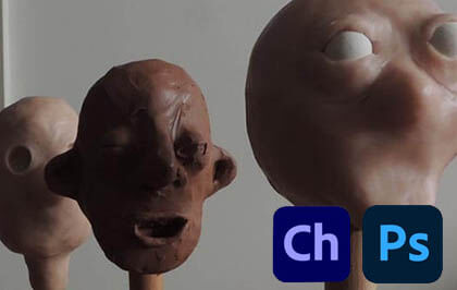 Making a claymation puppet for Adobe Character Animator