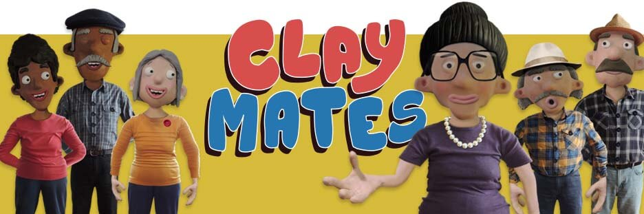 Clay Mates Stop Motion Clay Adobe Character Animator Puppets