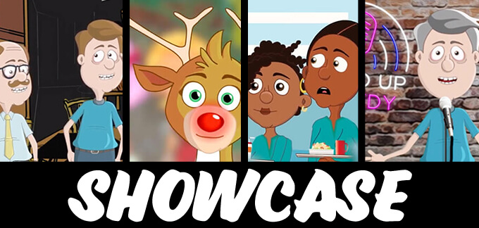 Adobe Character Animator Showcase