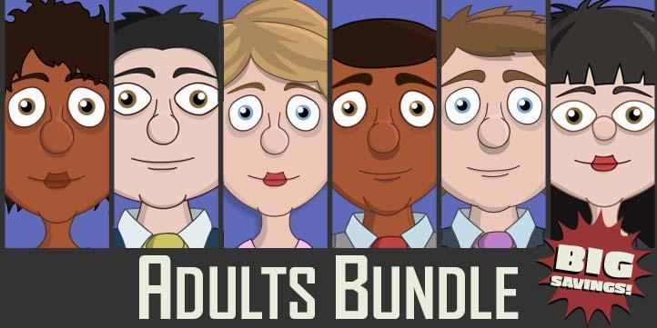 Adobe Character Animator Adults Puppet Bundle