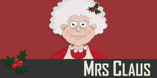 Mrs Claus - a Christmas puppet