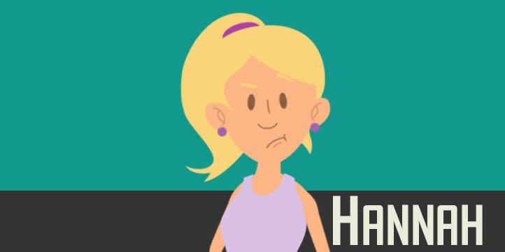 Hannah - Adobe Character Animator Puppet