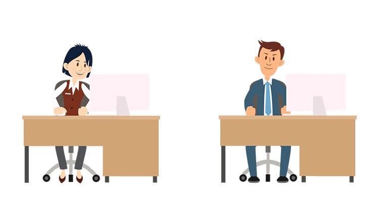 Sitting Desk bonus Puppets for Adobe Character Animator