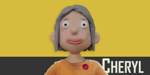 Cheryl puppet available for Adobe Character Animator