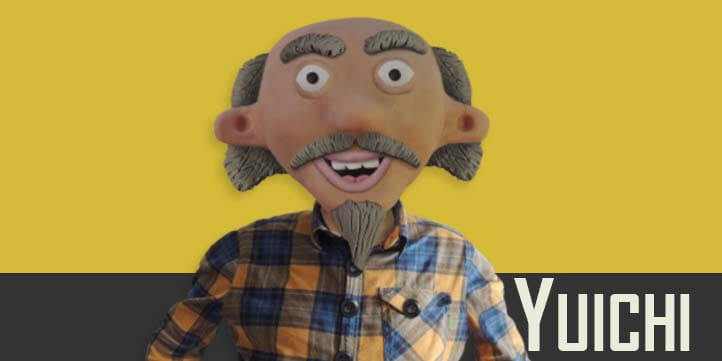 Yuichi puppet available for Adobe Character Animator