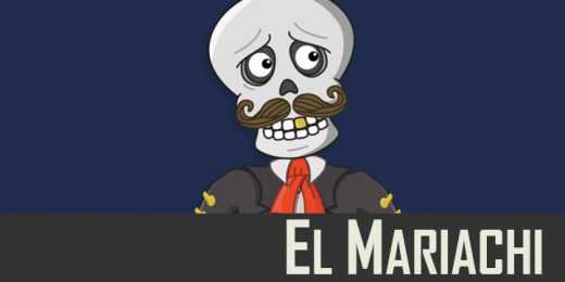 El Mariachi puppet available for Adobe Character Animator