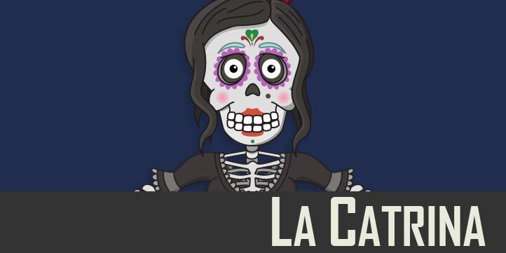 La Catrina puppet available for Adobe Character Animator