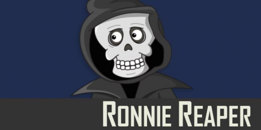 Ronnie Reaper puppet available for Adobe Character Animator