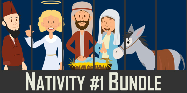 Nativity Puppets for Adobe Character Animator