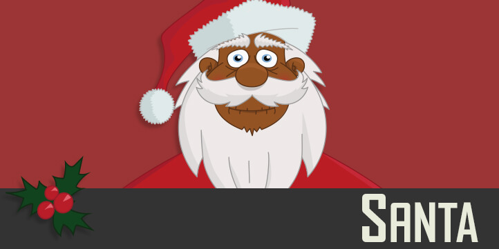 Santa Claus - a Christmas puppet