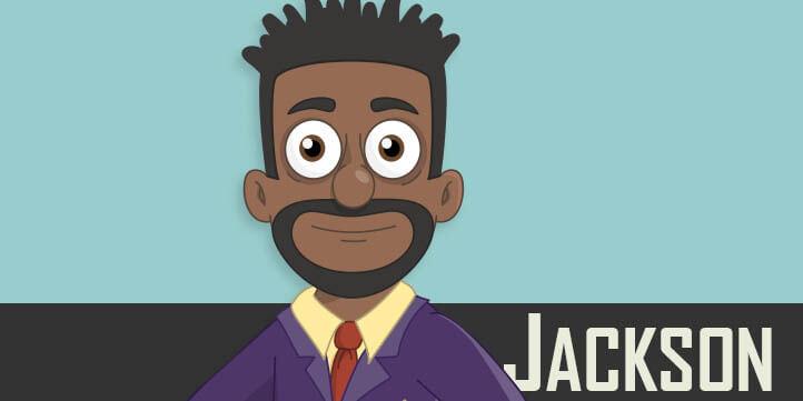Jackson - Puppet for Adobe Character Animator