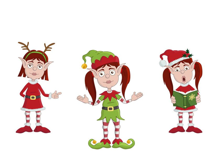 Becky - A Christmas Elf