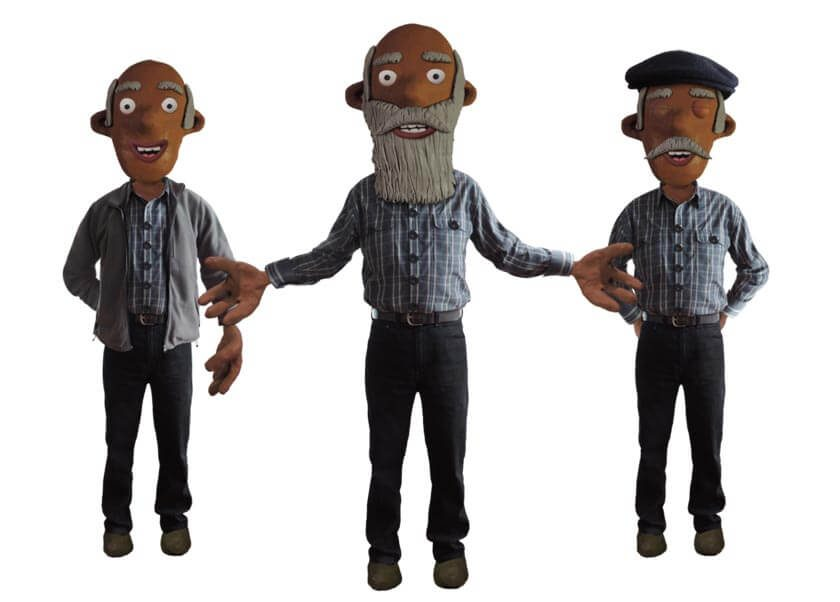 Bernie puppet available for Adobe Character Animator