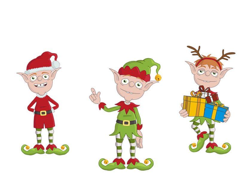 Bucky - A Christmas Elf