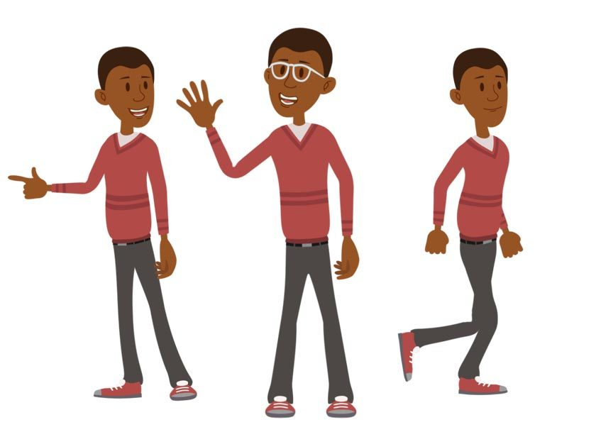 Caleb puppet available for Adobe Character Animator