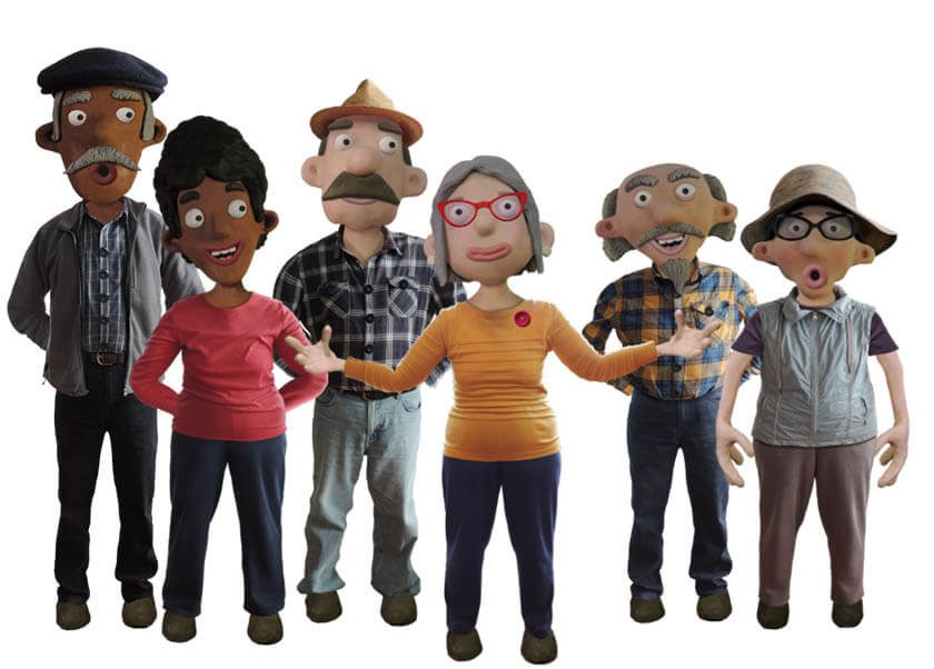 Stop Motion Claymation style puppets for Adobe Character Animator