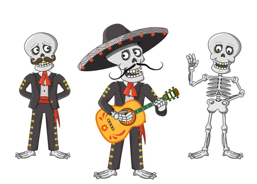 El Mariachi puppet for Adobe Character Animator