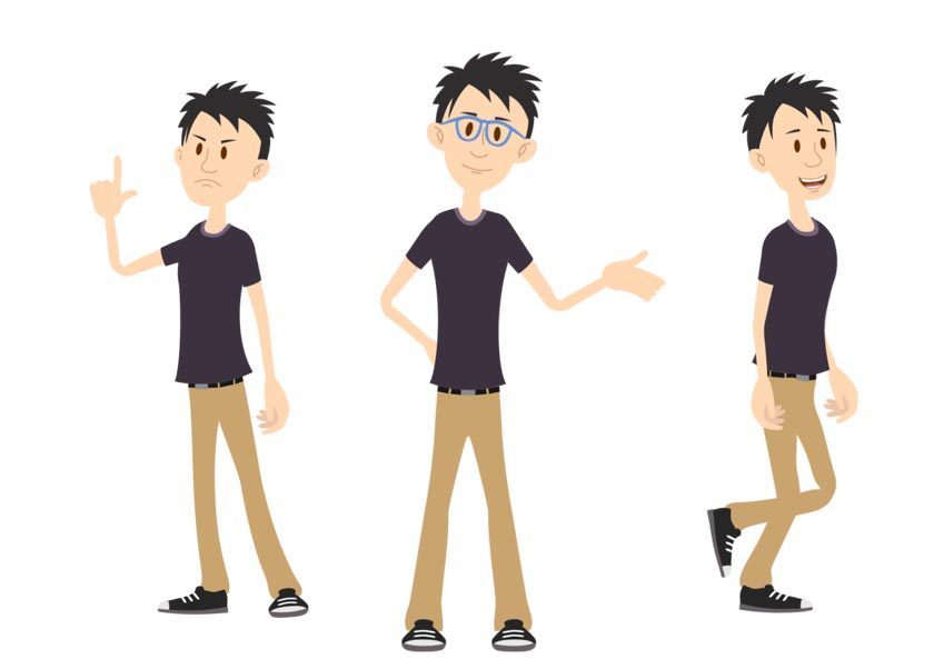 Ethan puppet available for Adobe Character Animator
