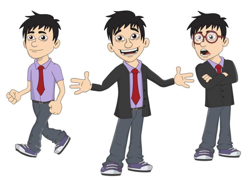 Eugene - Puppet for Adobe Character Animator