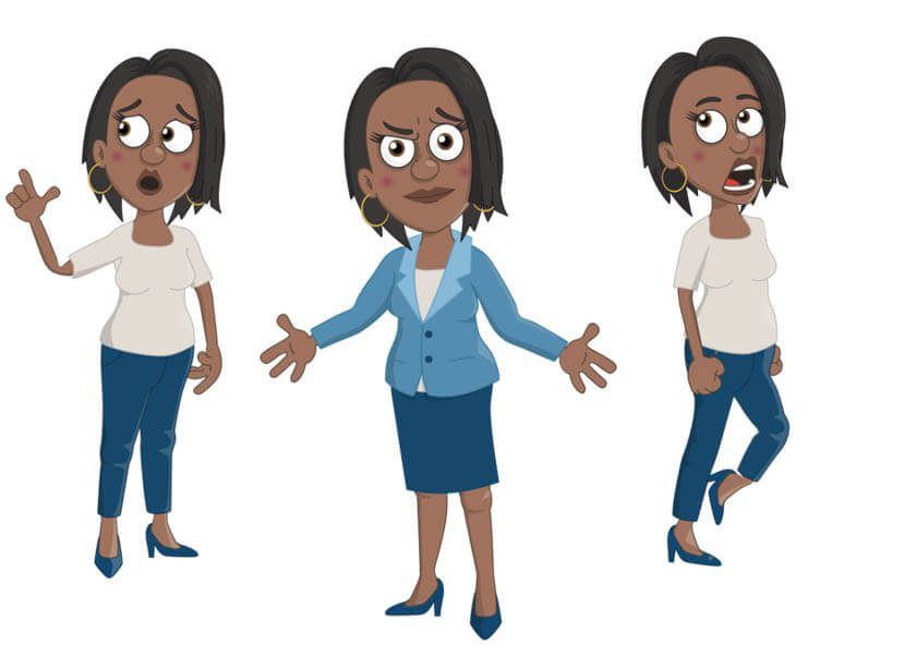 Imani - Puppet for Adobe Character Animator