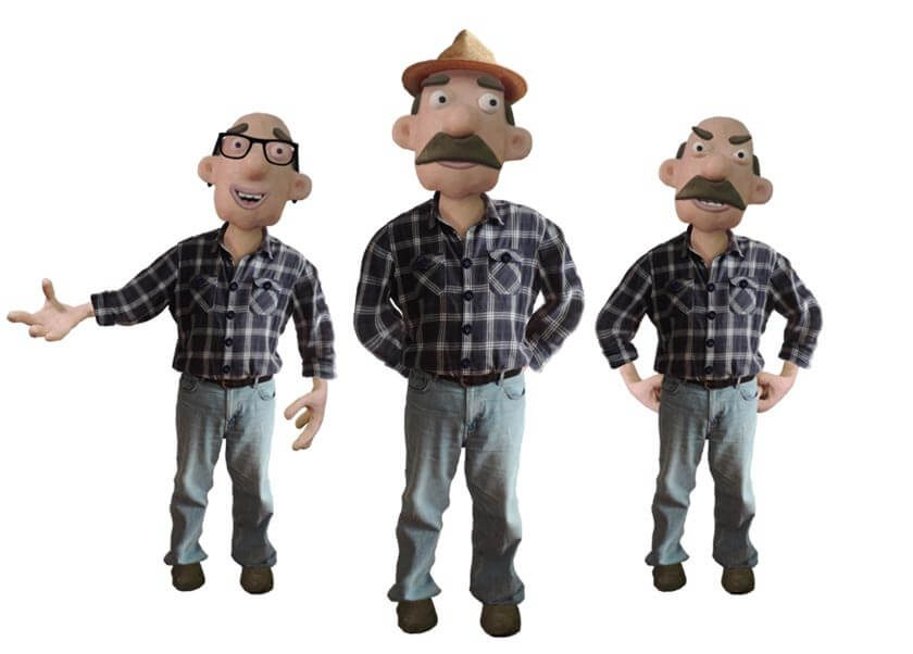 John puppet available for Adobe Character Animator