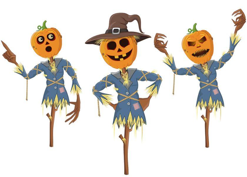 Pumpkin Ned Adobe Character Animator Halloween puppet