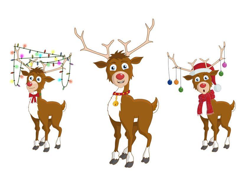 Rudolph - Christmas reindeer Adobe Character Animator puppet