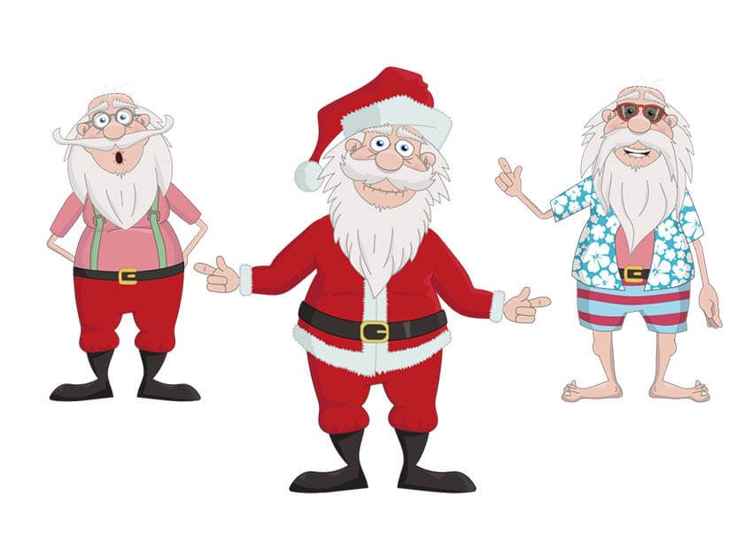 Santa Claus is a Christmas puppet available for Adobe Character Animator.