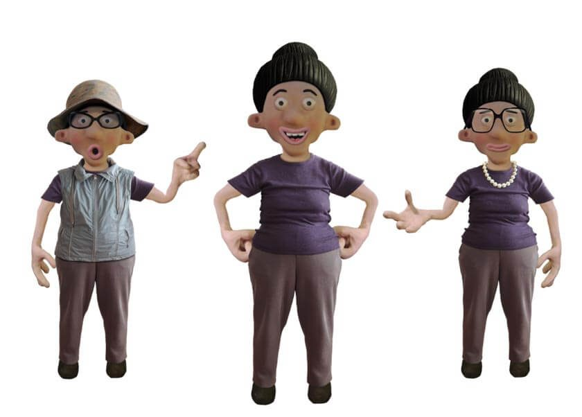 Xiang puppet available for Adobe Character Animator