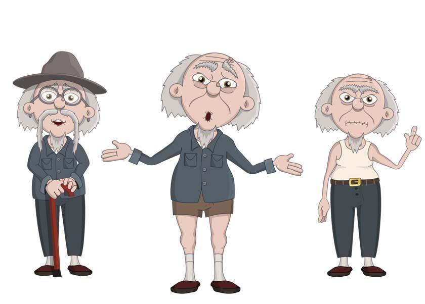 Zhen - an elderly asian male puppet
